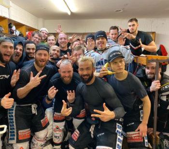 Die Piranhas des Rostocker Eishockey-Clubs ließen am Wochenende in der Oberliga Nord aufhorchen. Foto: REC