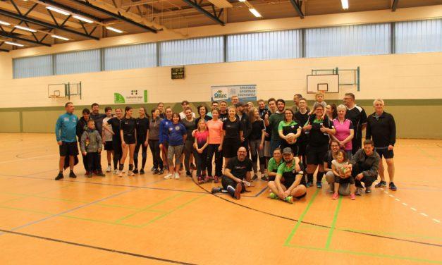 Erstes Familien-Volleyball-Turnier der Volleyballer des SC Laage