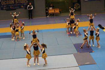 Cheerleading in Greifswald: Die Ocean Stars bei der Generalprobe zur Landesmeisterschaft. Foto: © Günter Göhrl