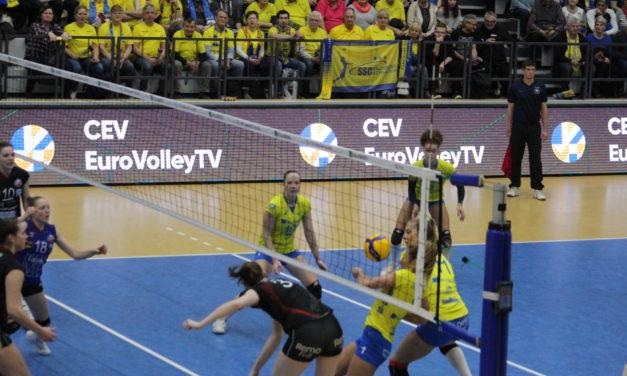 SSC mit Heimsieg im CEV-Cup