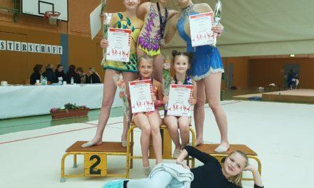 Bentwischer Gymnastinnen erfolgreich bei den Landesmeisterschaften