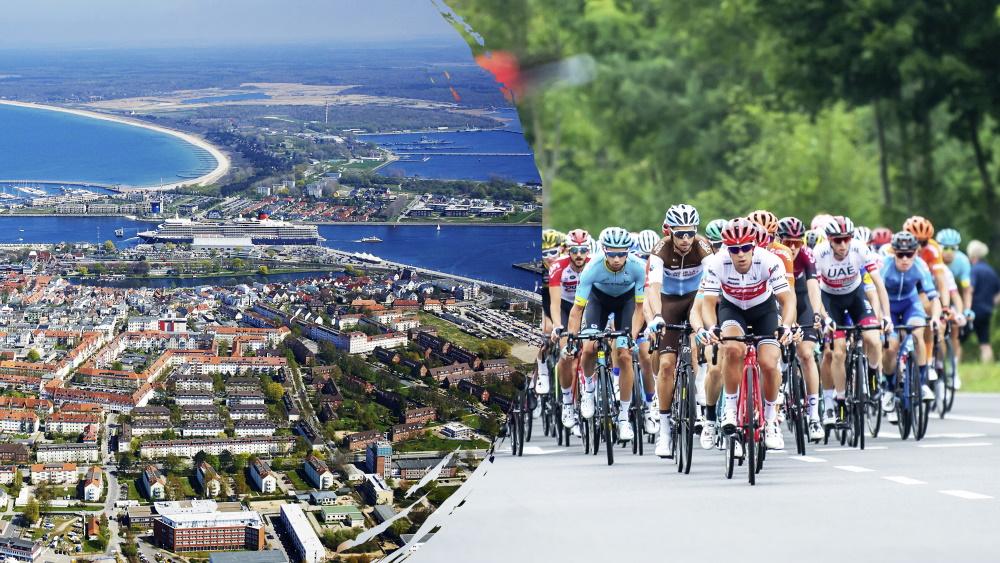 Erste Etappe der Deutschland Tour führt durch Rostock