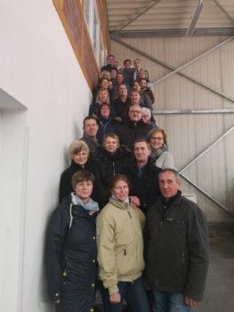 Teilnehmer des Richterkonventes 2020 in der Cavallo-Arena by Reitsport Manski in Güstrow © Landesverband MV für Reiten, Fahren und Voltigieren e.V.