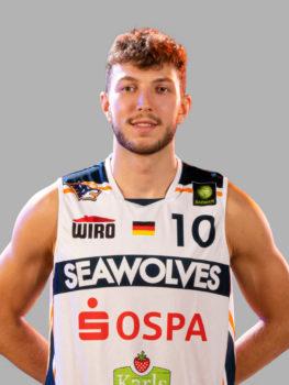 Dder 22-jährige A2-Nationalspieler Haris Hujic verlässt die Rostock SEAWOLVES