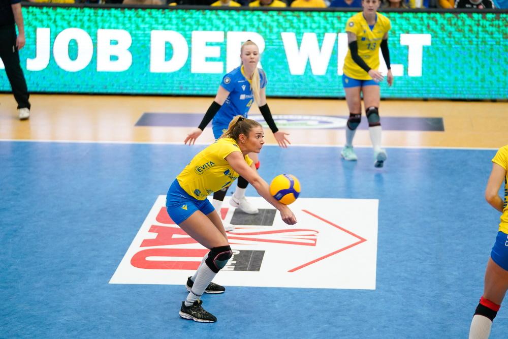 Top-Scorerin Gréta Szakmáry bleibt beim SSC. Foto: Michael Dittmer