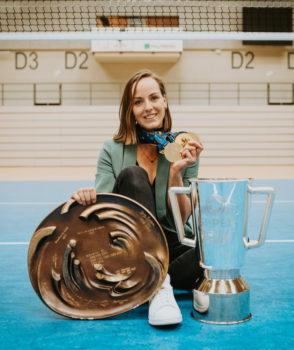SSC- und Nationalmannschaftskapitänin Denise Hanke beendet ihre Volleyballkarriere. Foto: Florian Seubert