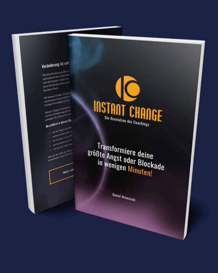 Buch Instant Change - Die Revolution des Coachings Daniel Weinstock