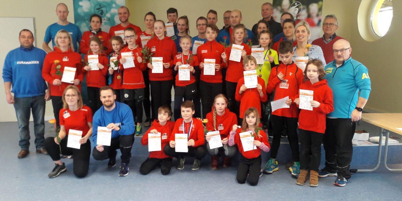 Sportabzeichen-Wettbewerb mit starkem SC Laage