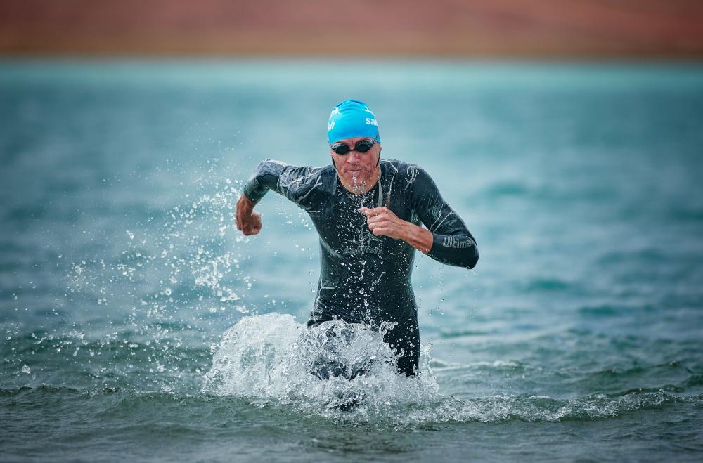 Andreas Raelert (Frankfurt relay) Foto: Isaak Papadopoulos