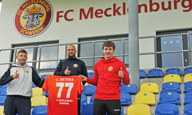 Jan Deters kommt von der U23