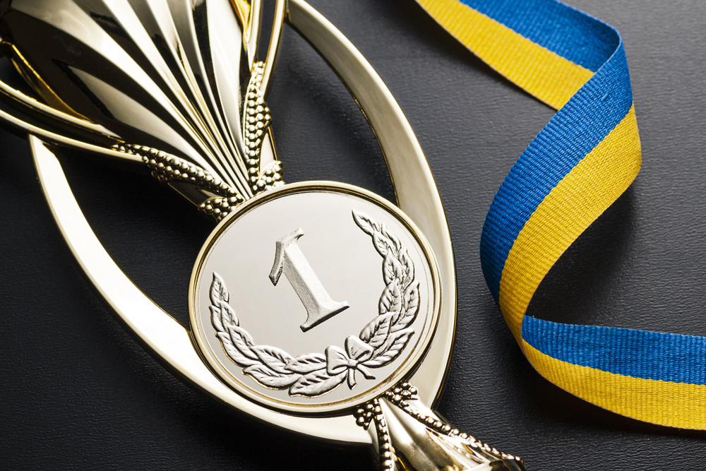 Goldmedaille erster Platz im Sport durch Insant Change Methode |  Stockfoto: envato elements