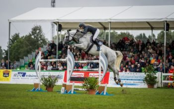 Denise Svensson auf Carina beim Pferd+Hund-Turnier 2019 Foto: Brügmann