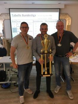v.l.: Frank Kleinsorg, Paul Döring, Prof. Dr. Jens Hadler. Foto: ©️ Boxclub TRAKTOR Schwerin