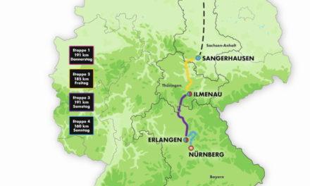 Deutschland Tour 2021 – von der Ostseeküste nach Franken