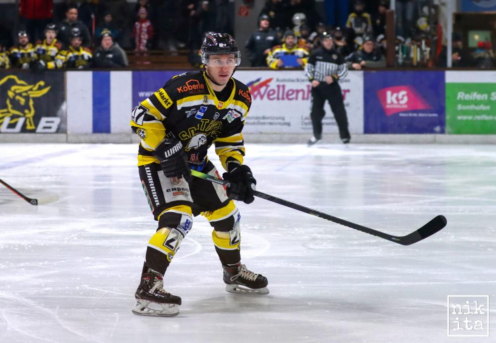 Aus Sonthofen an die Ostseeküste: Eishockey-Stürmer Filip Stopinski.