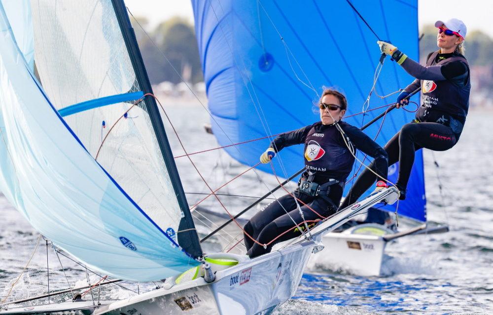 German Sailing Team glänzt vor Kieler-Woche-Finale