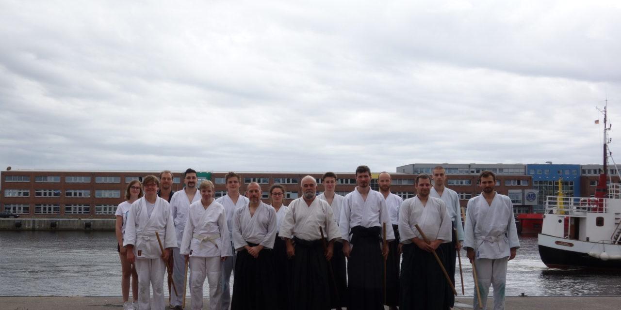 Kampfkunstexperte Pierre Congard zu Gast in Rostock – Lehrgang mit Sonderregeln
