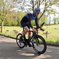 Der Rostocker Triathlet Michael Raelert beim Training - Foto: Raelert-Brothers