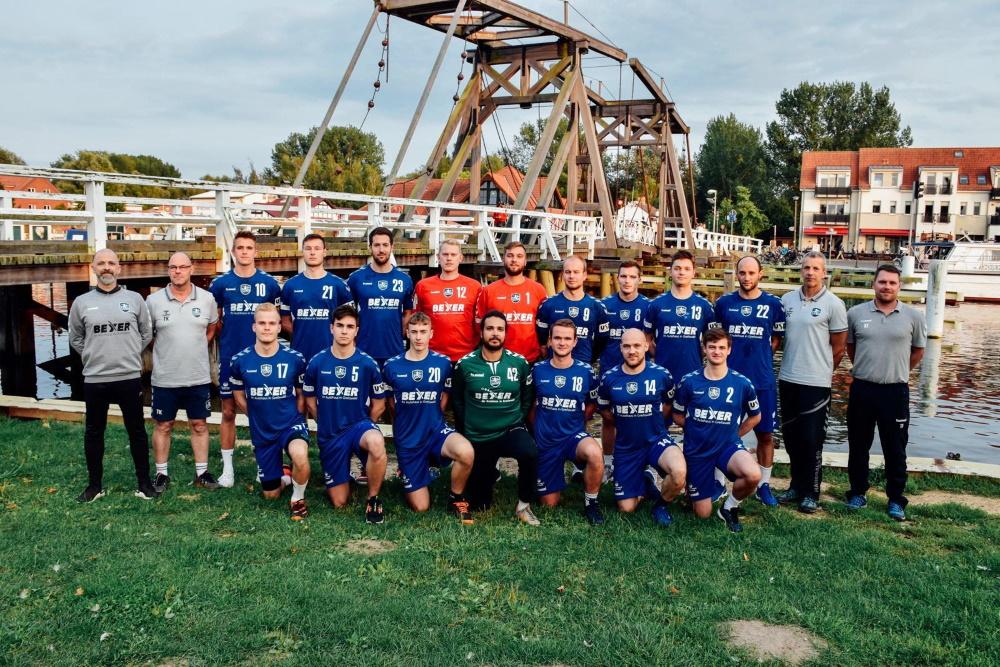 Schlägt in der MV-Liga auf: die 1. Herrenmannschaft des HC Vorpommern-Greifswald