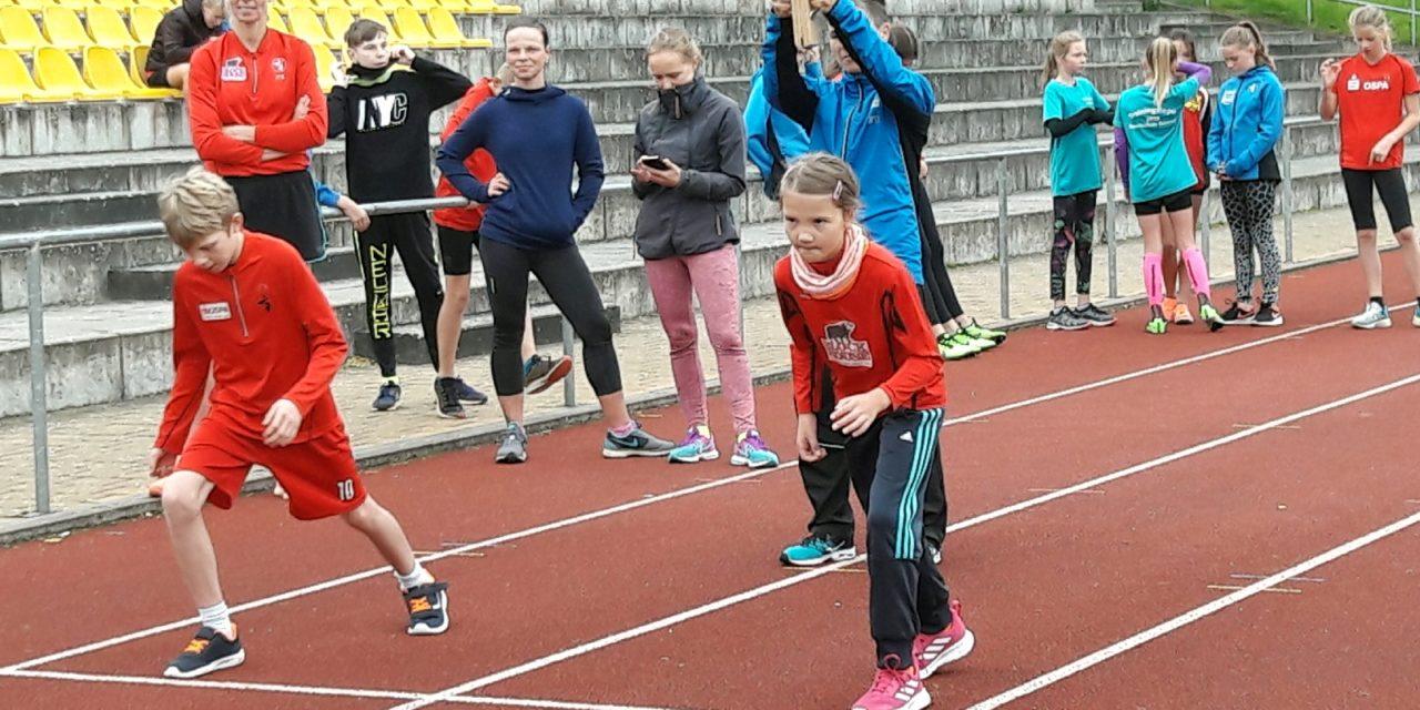 Sportabzeichen lockte auf die Recknitzkampfbahn