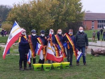 Sieg der Mannschaft II aus Mecklenburg-Vorpommern mit den Disziplintrainern Andreas Brandt und Bianca Sack. Foto: © Vielseitigkeitsfreunde aus MV