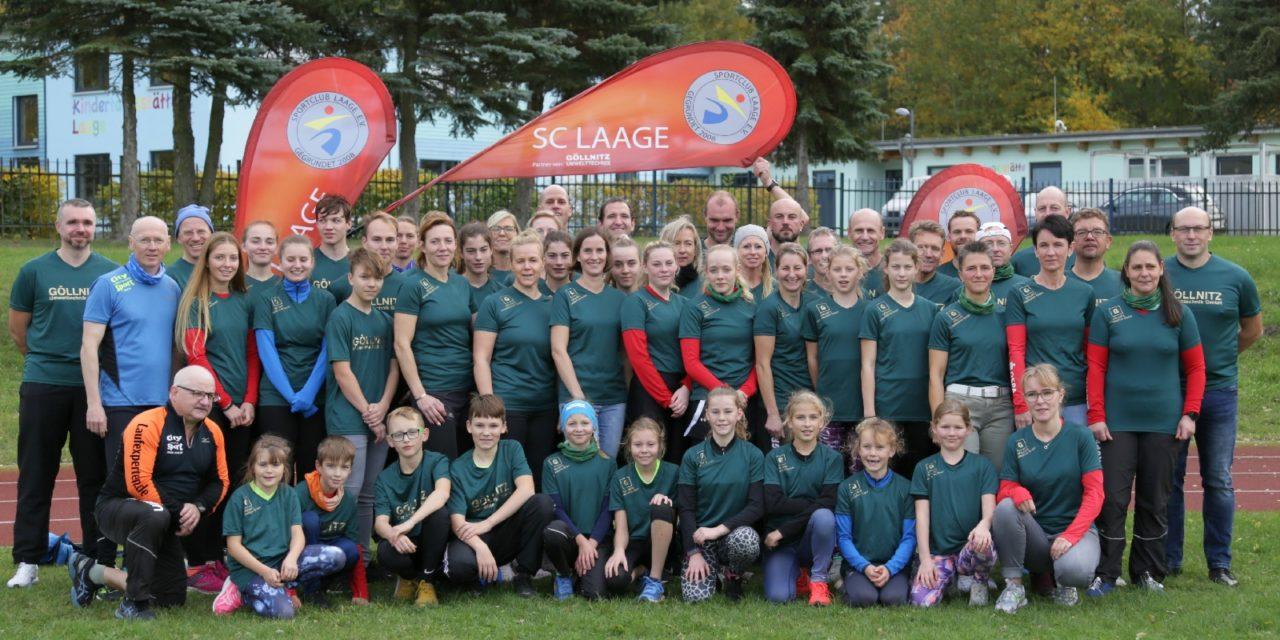 Neue Präsentationsshirts für Laager Laufcup-Läufer