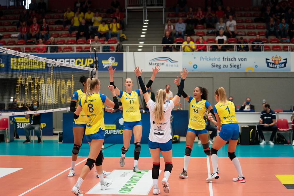 Der Supercup geht zum 4. Mal in Folge nach Schwerin