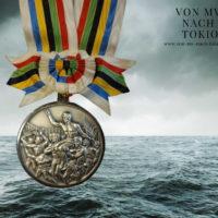 Wird versteigert: die olympische Silbermedaille von Peter Ahrendt