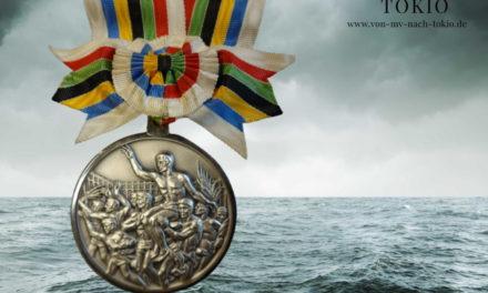 Wird versteigert: Olympiamedaille des Rostockers Peter Ahrendt
