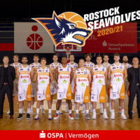 Teamfoto der Rostock Seawolves - Saison 2020/2021