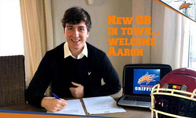 Der neue Griffins QB für 2021
