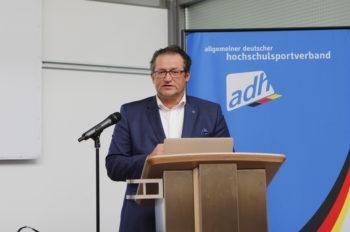 Jörg Förster, adh-Vorstandsvorsitzender © adh