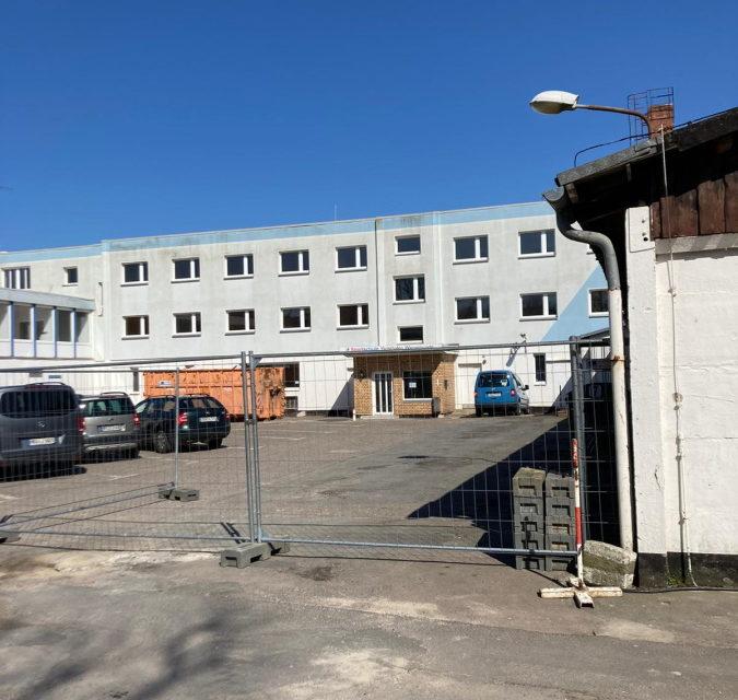 Abschied von LSB-Sportschule im Yachthafen Warnemünde