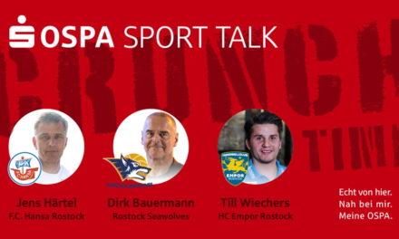 OSPA Sport Talk mit Rostocker Cheftrainern