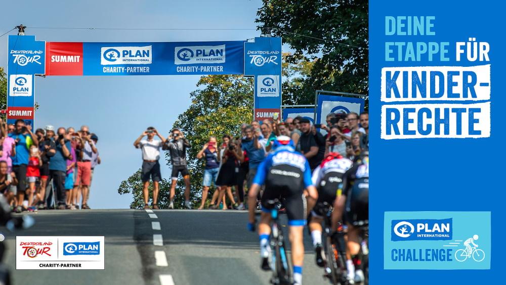 Plan International Challenge – Hobbyradsportler fahren Deutschland Tour für Kinderrechte