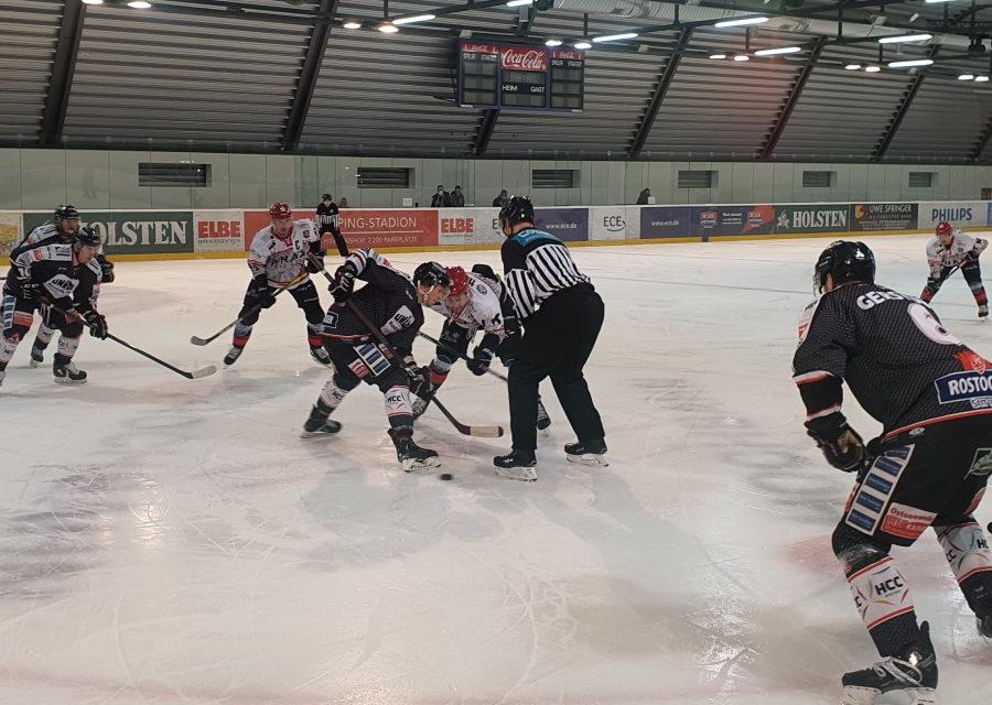 Piranhas gewinnen 5:4 in der Verlängerung gegen Herford