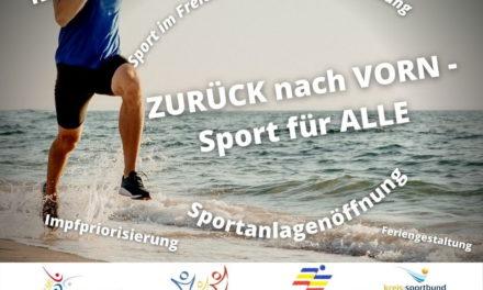ZURÜCK nach VORN – Sport für ALLE