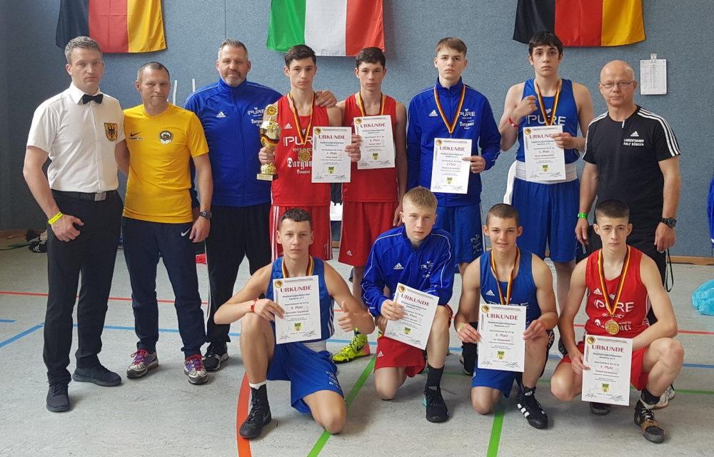 Acht Schweriner Boxer für Ruhr Games qualifiziert