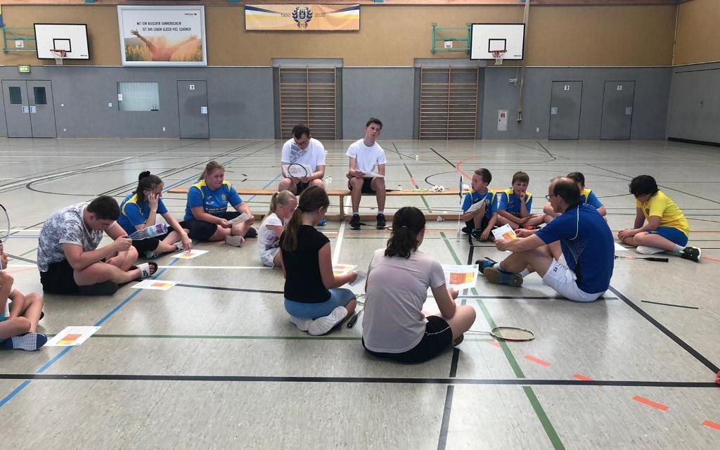 Badminton Nachwuchs – Neustart nach Coronapause