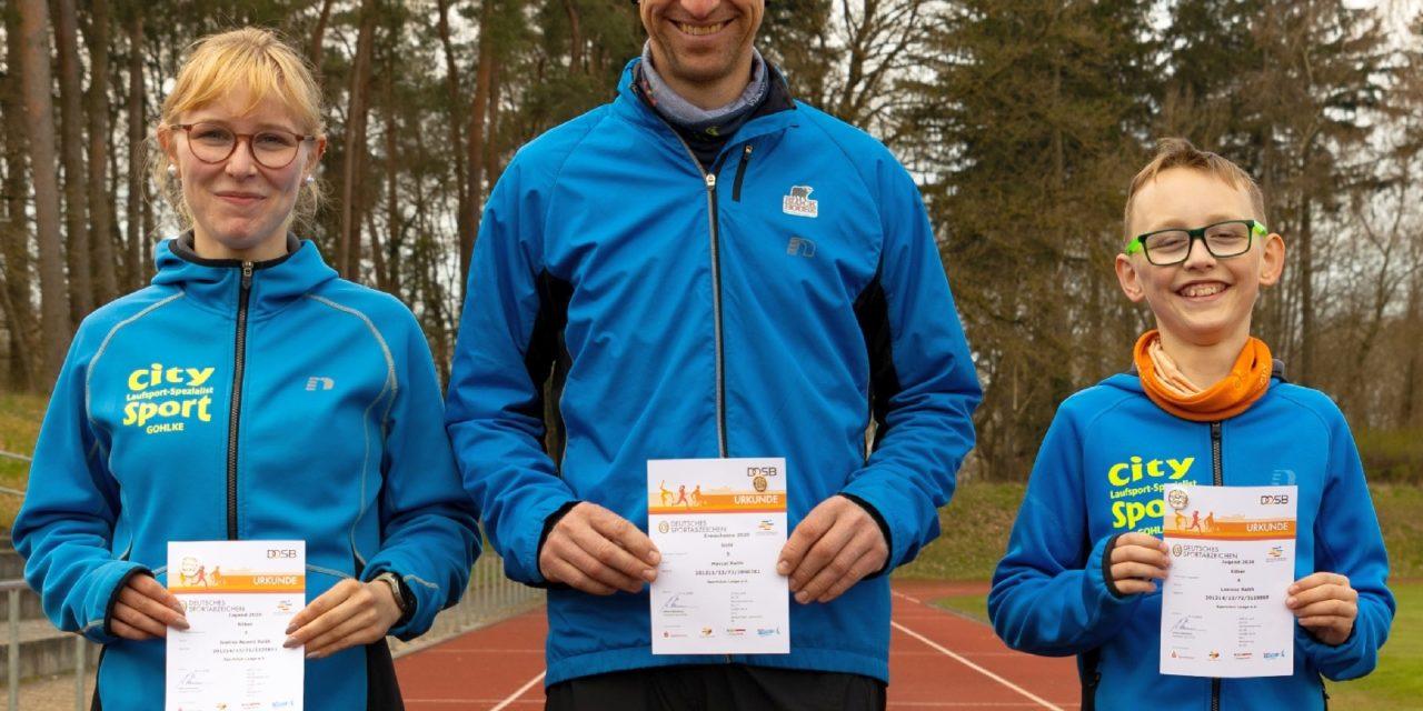 Sparkassen Sportabzeichen-Wettbewerb des Jahres 2020
