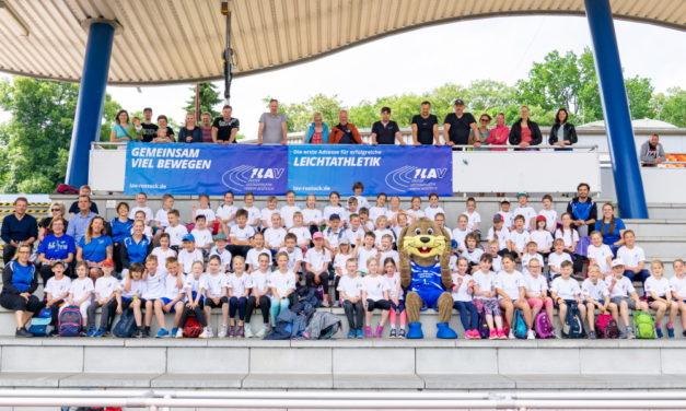Feriencamp des 1. LAV Rostock mit über 80 Teilnehmern
