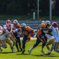 Griffins starten mit Unentschieden gegen die Lübeck Cougars in die Saison   Foto: Gerd Köhler