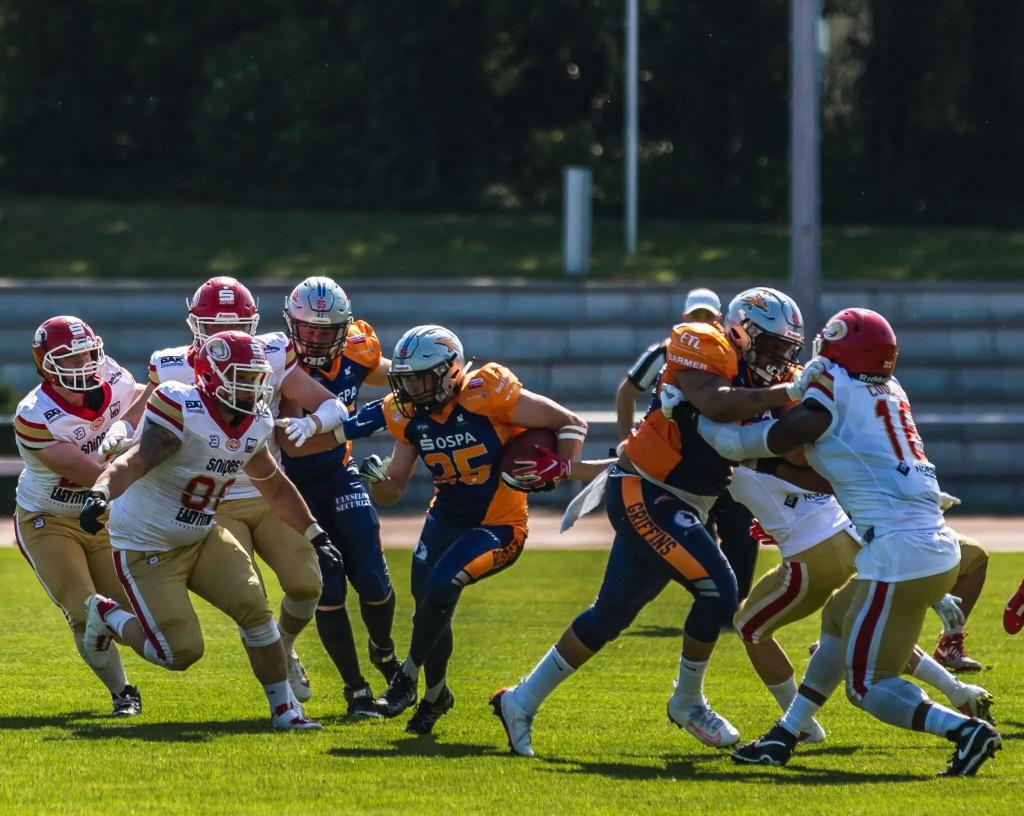 Griffins starten mit Unentschieden gegen die Lübeck Cougars in die Saison | Foto: Gerd Köhler