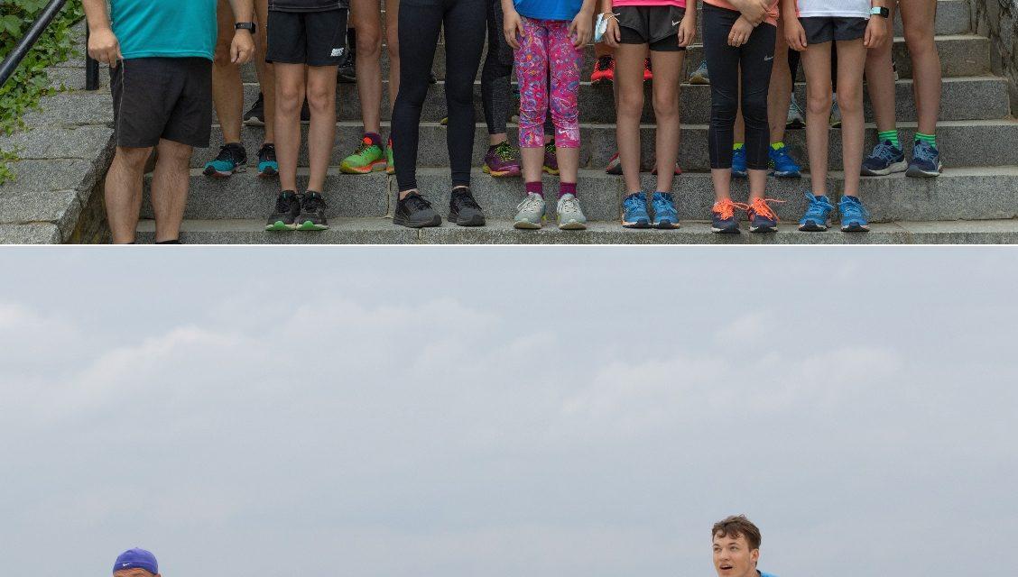 Laager Läufer waren endlich wieder auf der Insel