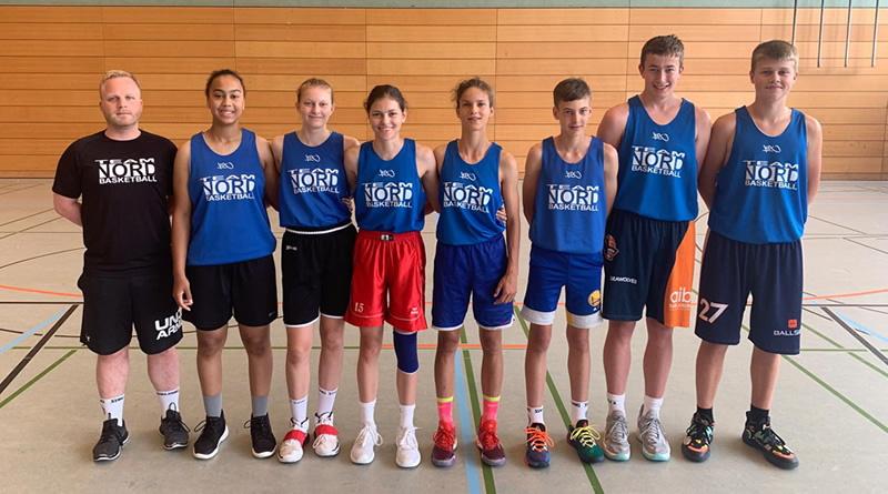Sieben Rostocker Talente im Team Nord