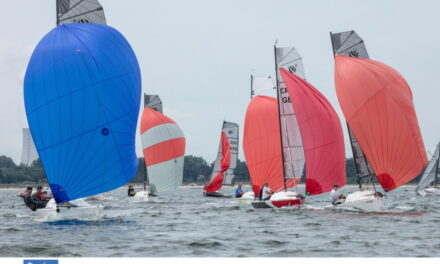 Die Segelwettbewerbe der 83. Warnemünder Woche: Komprimiert und hochkarätig