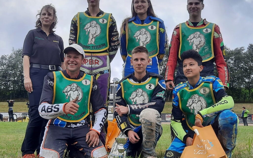 Teterower Speedway-Team startet mit Platz 2