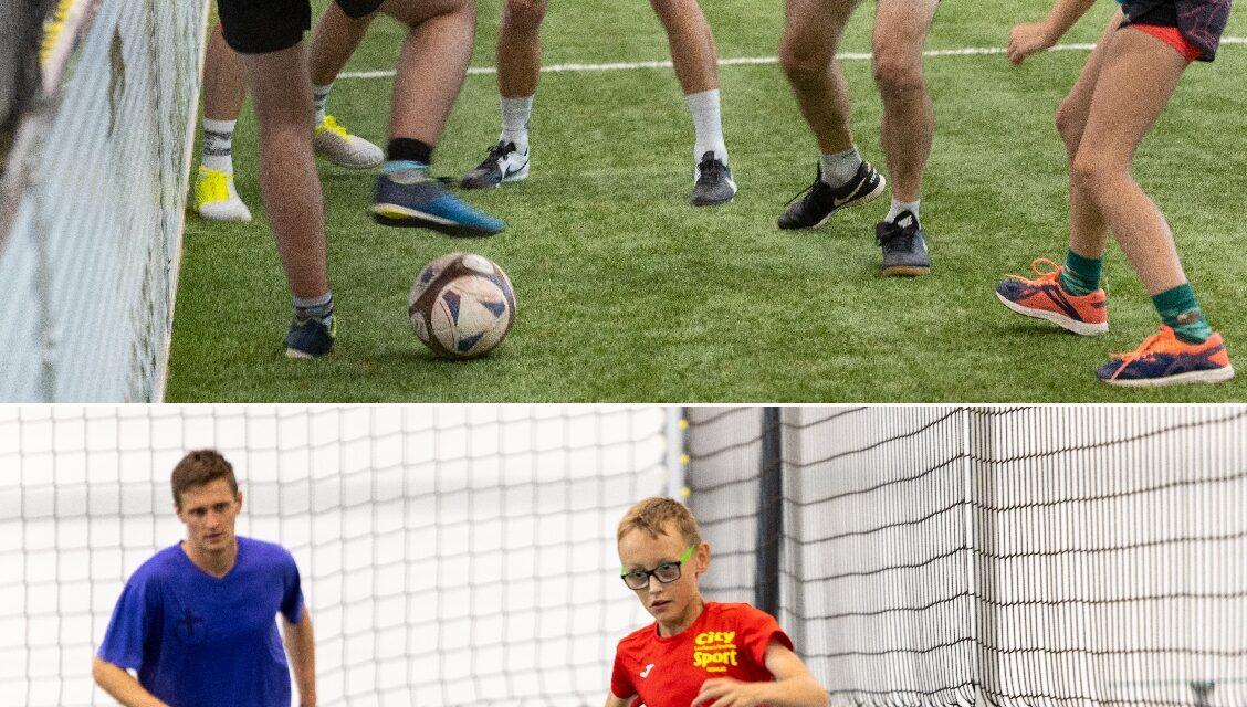 Familienfußballtag der Militärseelsorge – mit Ex-Hansa Profi