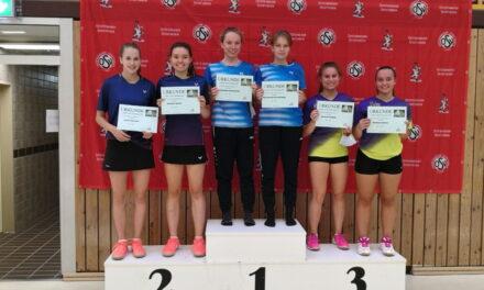6 Medaillen beim 1. DBV-C-Ranglistenturnier in Hamburg