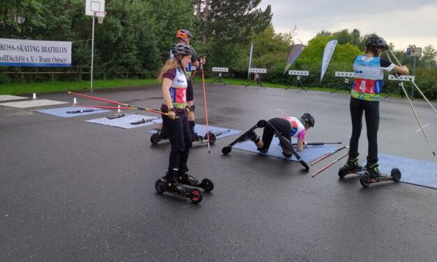 Biathlon in Beckerwitz – Cross-Skating Event war ein voller Erfolg